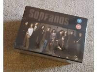 Sopranos DVD box set. Complete seasons 1-6 BRAND NEW AND SEALED