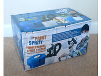 Paint Spray Gun Professional Spray System Varnish One Touch All Paint Easy Clean