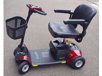 PRIDE GO GO ELITE TRAVELLER Plus, FREE DELIVERY, A1 condition Mobility scooter