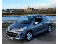 Peugeot 207 S 1.4 HDI. Long MOT. £30 PER YEAR TAX. CHEAP INSURANCE AND HPI CLEAR