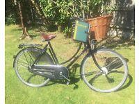 "Pashley Princess Sovereign 20"" black ladies bike"