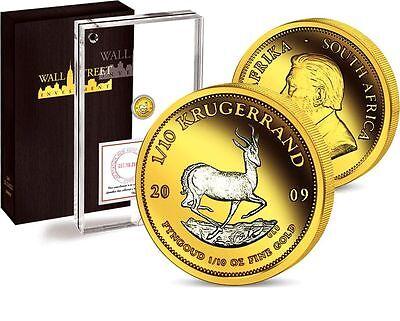 Wall Street Investment Gold Collection 2009 Springbock - Krugerrand 1/10oz Gold online kaufen