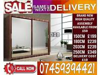 BRAND NEW 2-3 Door Sliding Wardrobe