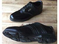 Dunlop 65i Black Golf Shoes Size 10