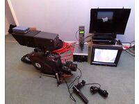 Thomson Digital Studio camera chain with Angenieux Lens,CCU,autocue etc