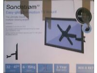 Sandstorm Easy-glide full motion TV mount