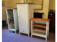 IKEA Children's Bedroom Furniture Set – Small Wardrobe, Tall Boy and Shelves