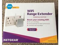 NETGEAR WIFI EXTENDER NEW BOX OPEND TO CHECK CONTENT £15