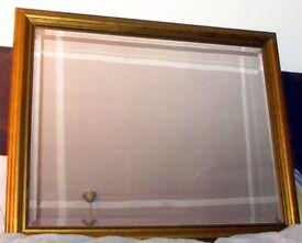 Large Bevelled Mirror Shabby Chic gold frame