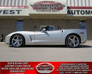 2005 Chevrolet Corvette 3LT Z51, 6-SPEED, FLAWLESS!