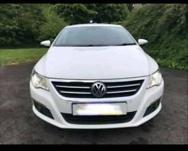 2010 60 VW Passat CC GT TDI 170 Candy White 5 Seats Full Black Sports Leather Heated HUGE SPECS