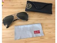 Ray Ban Aviator - Silver, Large