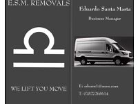 ESM REMOVALS WE LIFT YOU MOVE -Removals,IKEA and eBay collection,packing service,site clearance etc
