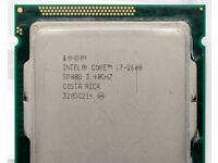 Intel Core i7 2600 3.40 GHz (3.80 GHz Turbo Boost) Sandy Bridge - LGA 1155 Socekt