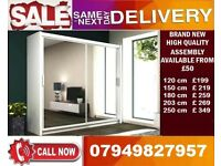 CHEAPEST OFFER 65% OFF 2 OR 3 DOOR WARDROBE (SLIDING) MIRROR MAAZ