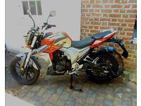 LEXMOTO VIPER 125cc Motorbike 2017 - v low mileage