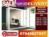CHEAPEST PRICE OFFER 60% OFF 2 OR 3 DOOR WARDROBE (SLIDING) MIRROR IN DIFFERENT COLOR MAAZ