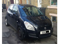 2011 Suzuki Splash 1.0 GLS 5dr Black Petrol LOW MILES CHEAP TAX VAUXHALL AGILA