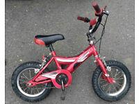 "Child's bike, good condition, Giant branded so good quality, 12.5"" wheels"