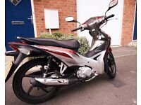 Honda motorbike 110i