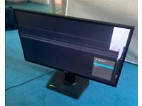 """ASUS VG278Q GAMING MONITOR 27"""" FULL HD 1MS 144GHz G-SYNC DAMAGED SCREEN FOR SPARES OR REPAIRS"""