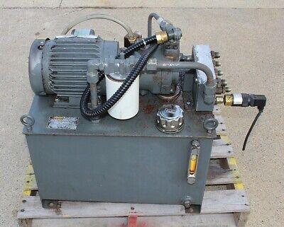 Hydraulic Power Unit Hpu5924 Parker Mee2p7cf Motor