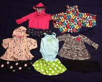 Baby girl clothes 60 items...