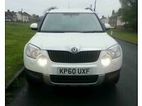 2011 SKODA YETI 2.0 CR TDI 4X4 FULL MOT *JUST REDUCED BY 500*