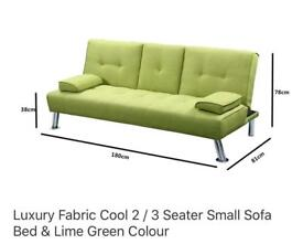 Sofa bed and chaise lounge set