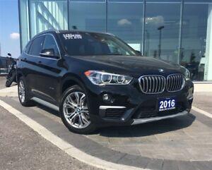 2016 BMW X1 xDrive28i - PANORAMIC SUNROOF, LEATHER INTERIOR, B
