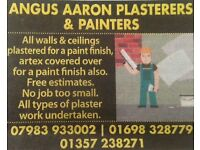 Angus Aaron Plasterers & Painters, East Kilbride, Glasgow and surrounding areas