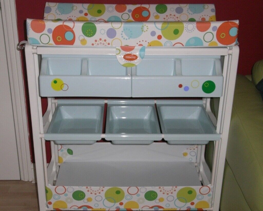 Baby changing table. Really nice lightweight. Plenty storage space ... 63661d84d968a