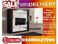 BRAND NEW 2 Door or 3 Doors Sliding Wardrobe
