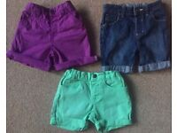 Boys Shorts 2 - 3 Years - £3 Each or £7.50 For 3