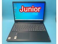 Lenovo i3 10thGen 8GB 128SSD+ 500GB Stylish Slimline Full HD Laptop, Ms office Virtually Brand NEW
