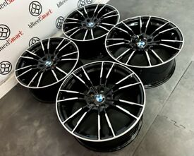 """BRAND NEW 19"""" 20"""" BMW M5 STYLE ALLOY WHEELS *AVAILABLE WITH TYRES* - 5 x 120"""