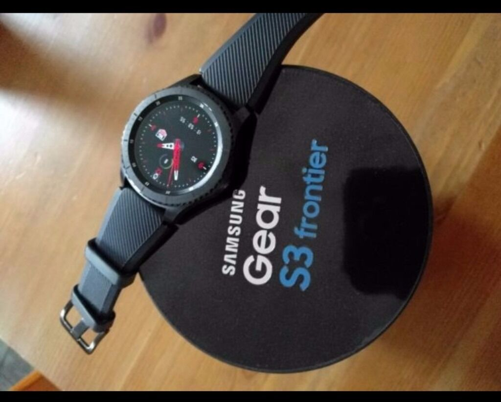 Brand New Samsung Gear S3 Frontier Smart Watch Fitness Tracker | in Leicester, Leicestershire ...