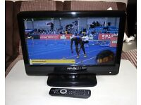 Philips 19 inch LCD TV with Freeview