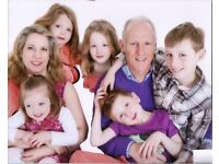 Live-in Au-pair wanted over Xmas only