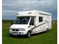 Swift Kontiki 650 Motorhome 2003 Fantastic 2 Berth Awning Manual FSH Large Bed! Lovely interior VGC