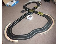 SCALEXTRIC INNER CITY MINI TRACK AND EXTENSIVE AMOUNT OF EXTRAS