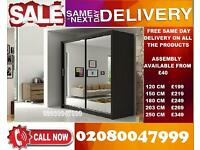 Awwesome ,,,, NEW 2 Door Sliding Wardrobe