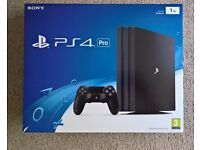 PS4 Pro Console [1TB] PlayStation 4 - 4K - Very Good Condition & Boxed