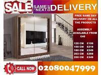 Exclusve offer- NEW 2 Door Sliding Wardrobe