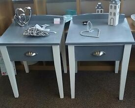 Pair of bedside cabinets - furniture