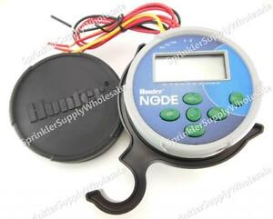 Hunter-NODE-200-9V-Battery-Operated-Controller-Timer-2-Station-Two-Zone-New-SVC