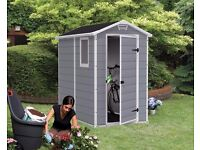 Keter Manor Shed 4x6 Plastic Brand New