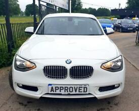 BMW 1 SERIES 2.0 116D URBAN 5d 114 BHP Apply for finance Online today! (white) 2013