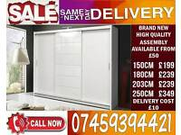 BRAND NEW 3 DOOR SLIDING WARDROBE/ 2 DOOR AVAILABLE ALSO