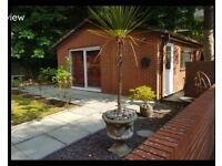 Furnished, one-bedroom detached bungalow in Beardwood